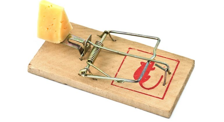 retro mousetrap